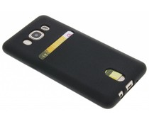 TPU siliconen card case Samsung Galaxy J5 (2016)