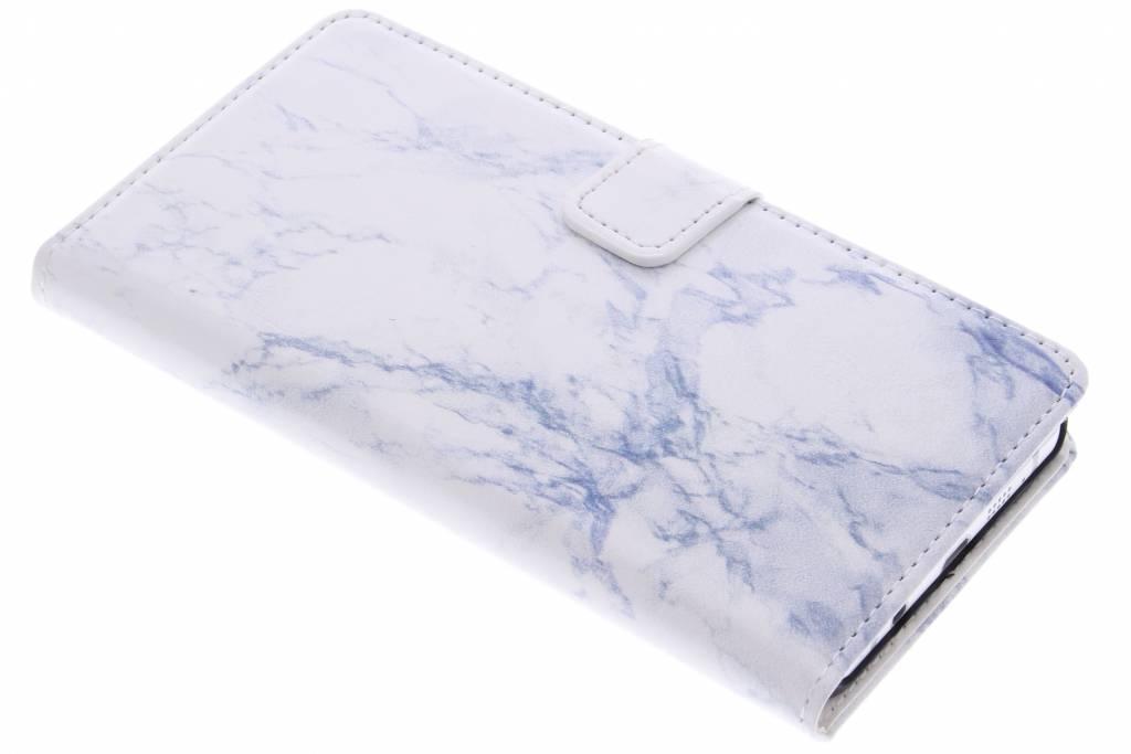 Witte marmer booktype hoes voor de Samsung Galaxy A5 (2016)