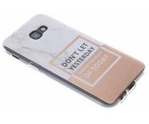 Quote design TPU hoesje Samsung Galaxy A5 (2017)
