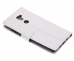 Wit zakelijke TPU booktype hoes Xiaomi Mi 5s Plus