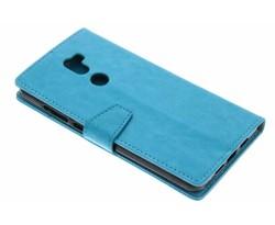 Turquoise zakelijke TPU booktype hoes Xiaomi Mi 5s Plus