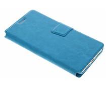 Turquoise zakelijke booktype hoes Xiaomi Mi 5s