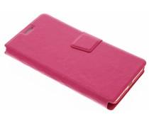 Fuchsia zakelijke booktype hoes Xiaomi Mi 5s