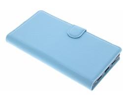 Lichtblauw zakelijke TPU booktype hoes Xiaomi Mi Mix