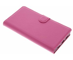 Roze zakelijke TPU booktype hoes Xiaomi Mi Mix