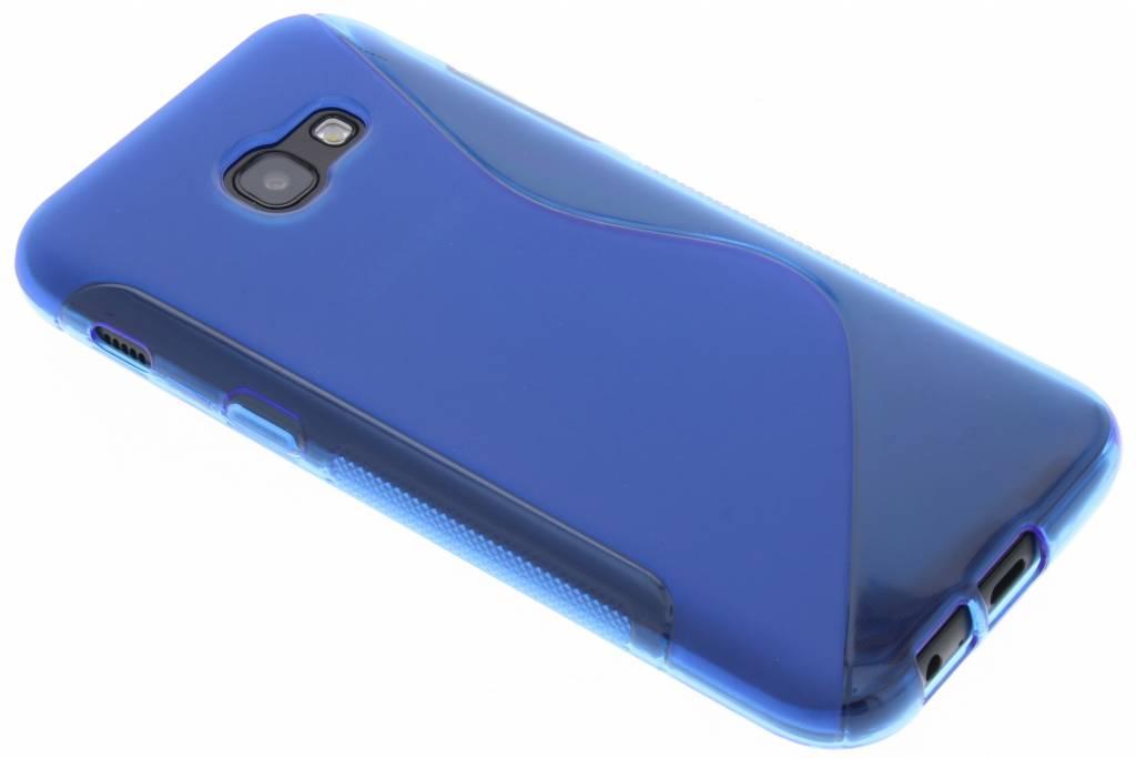 Blauw S-line TPU hoesje Samsung Galaxy A5 (2017)