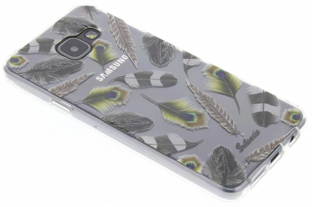 Feathers Peacock TPU hoesje voor de Samsung Galaxy A3 (2016)