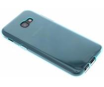 Turquoise transparant gel case Samsung Galaxy A5 (2017)