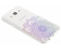 Mandala design TPU hoesje Samsung Galaxy J5