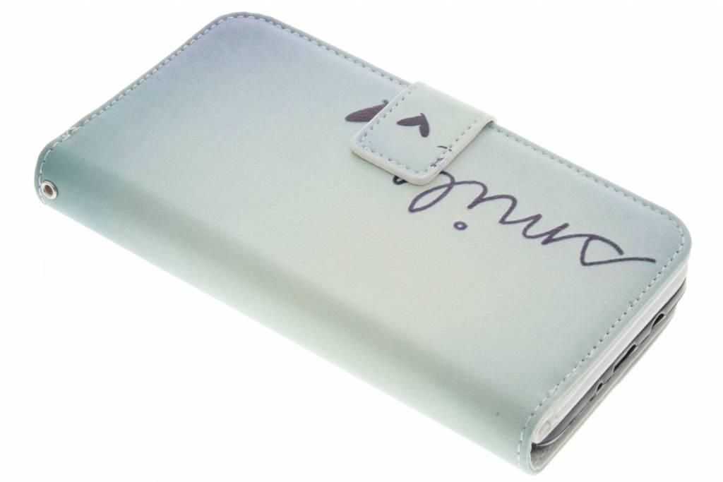 Smile design TPU portemonnee voor de Samsung Galaxy J5