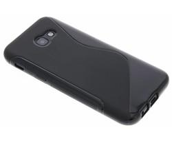 Zwart S-line TPU hoesje voor de Samsung Galaxy A5 (2017)
