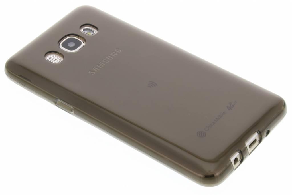Grijze transparante gel case voor de Samsung Galaxy J5 (2016)