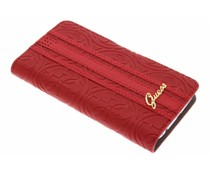 Guess Universele Heritage Booktype Case Maat L - Rood