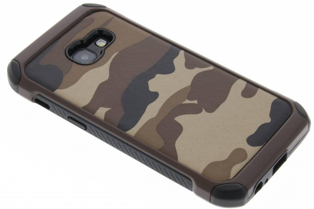 Bruin army defender hardcase hoesje voor de Samsung Galaxy A3 (2017)
