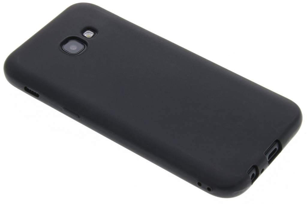 Zwart Color TPU hoesje voor de Samsung Galaxy A5 (2017)