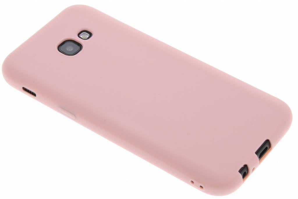 Roze Color TPU hoesje voor de Samsung Galaxy A5 (2017)