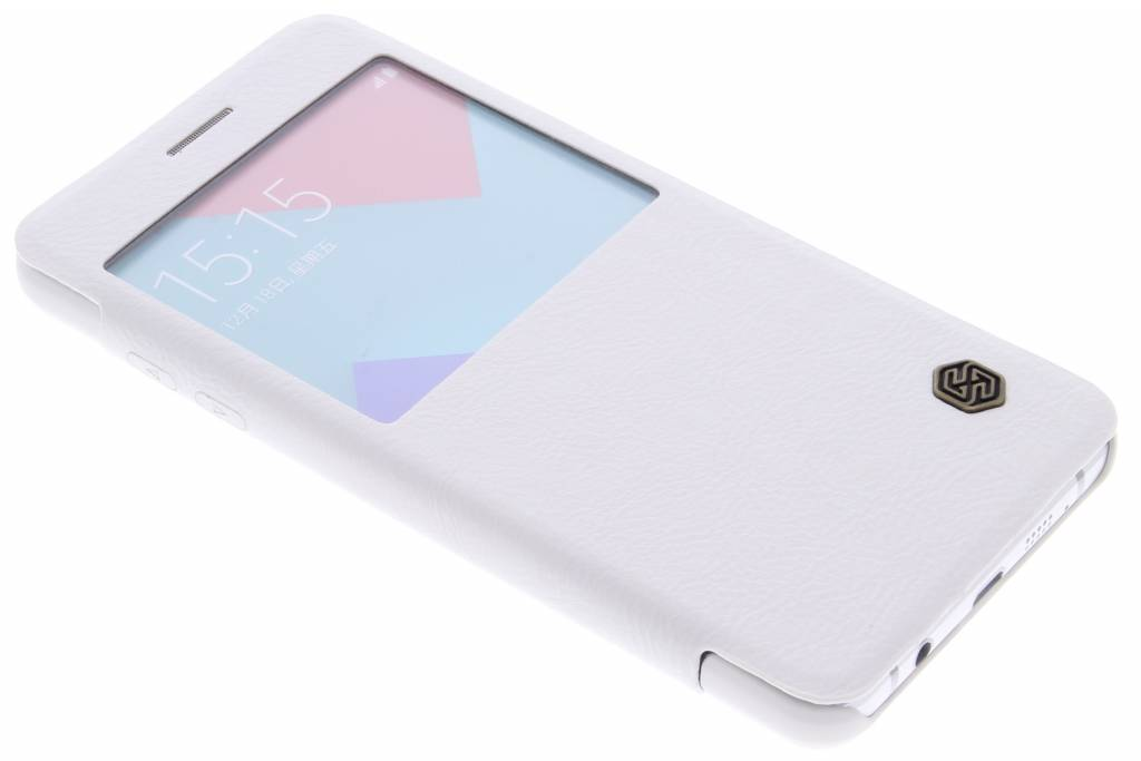 Nillkin Qin Leather Case met venster Samsung Galaxy A5 (2016) - White