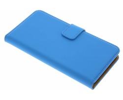 Selencia Blauw Luxe Book Case Lenovo K5