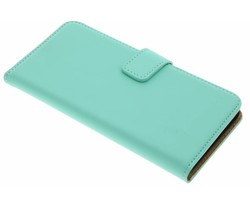 Selencia Mintgroen Luxe Book Case Lenovo K5