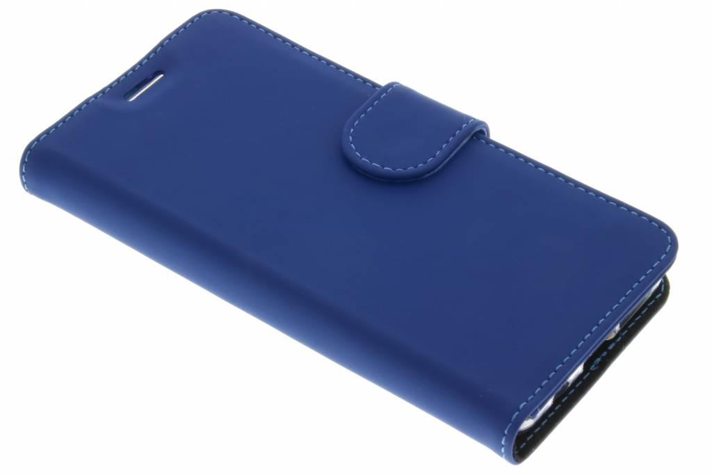 Accezz Wallet TPU Booklet voor de Samsung Galaxy A3 (2016) - Blauw
