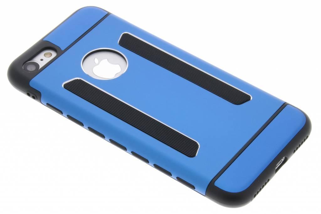 Blauwe metallic hardcase hoesje voor de iPhone 8 / 7