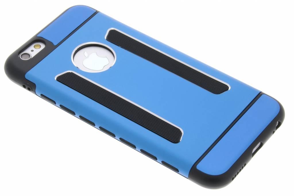Blauw metallic hardcase hoesje voor de iPhone 6 / 6s