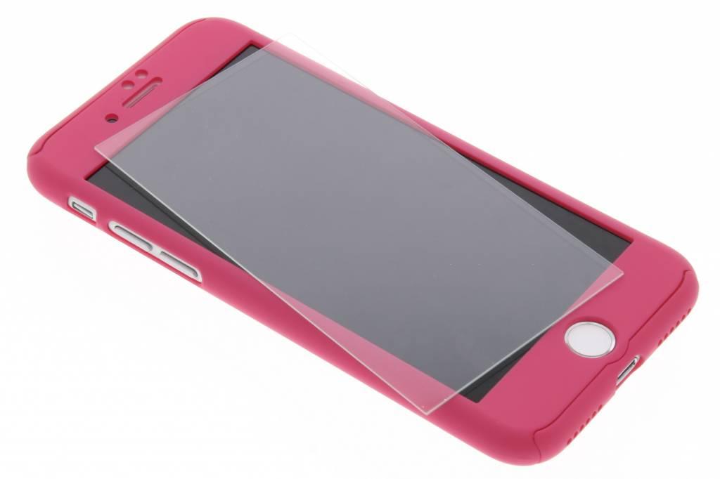 Fuchsia 360° effen protect case voor de iPhone 8 / 7