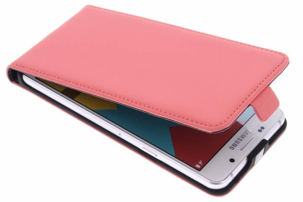 Mobiparts Premium Flipcase voor de Samsung Galaxy A5 (2016) - Peach Pink
