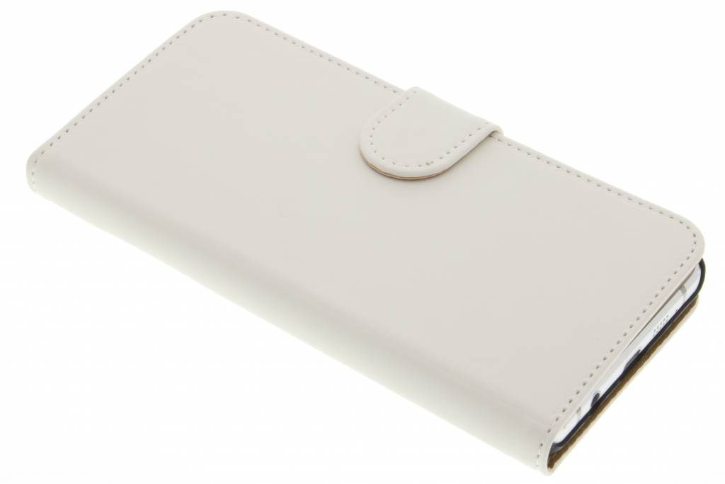 Witte effen booktype hoes voor de Samsung Galaxy A5 (2016)