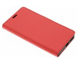 Rood zakelijke TPU booktype hoes Asus Zenfone 3 Max 5.5