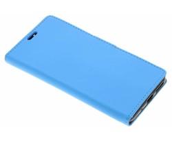 Lichtblauw zakelijke TPU booktype hoes Zenfone 3 Max 5.5
