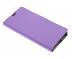 Lila zakelijke TPU booktype hoes Asus Zenfone 3 Max 5.5