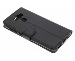 Zwart zakelijke TPU booktype hoes Asus Zenfone 3 Max 5.5