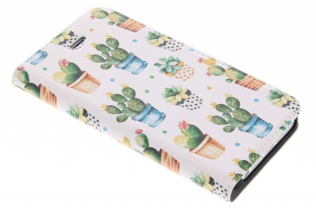 Cactus Design Booklet voor de iPhone 5 / 5s / SE