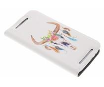 Bull Skull Design Booklet HTC One M8