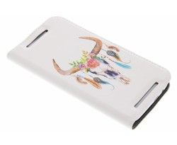 Bull Skull Design Booklet HTC One M8