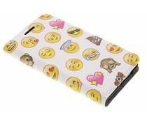 Emoji Design Booklet Samsung Galaxy S2 (Plus)