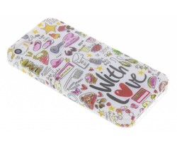 Blond Amsterdam With love softcase iPhone 5 / 5s / SE