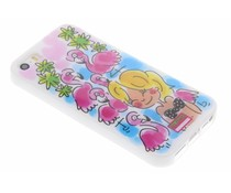 Blond Amsterdam Flamingo softcase iPhone 5 / 5s / SE