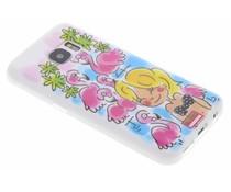 Blond Amsterdam Flamingo softcase Samsung Galaxy S7