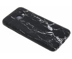 Zwart marmer look hardcase hoesje Samsung Galaxy A3 (2017)