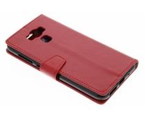 Rood Zakelijke Booklet Asus Zenfone 3 Max ZC553KL