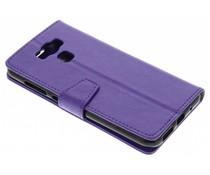 Paars Zakelijke Booklet Asus Zenfone 3 Max ZC553KL