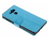 Turquoise Zakelijke Booklet Asus Zenfone 3 Max ZC553KL