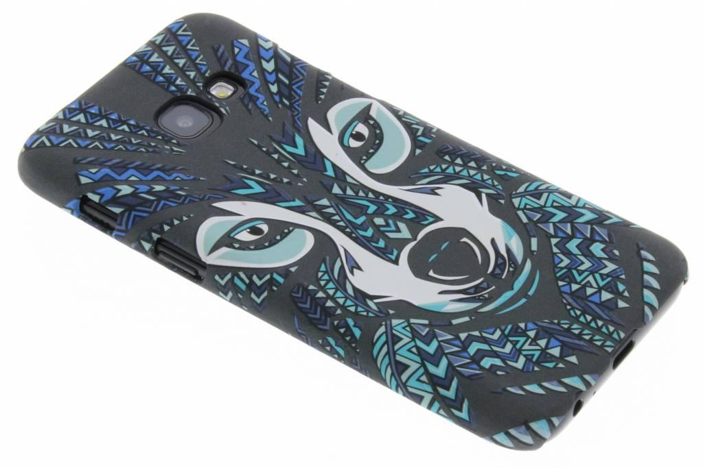 Wolf aztec animal design voor de Samsung Galaxy A3 (2017)