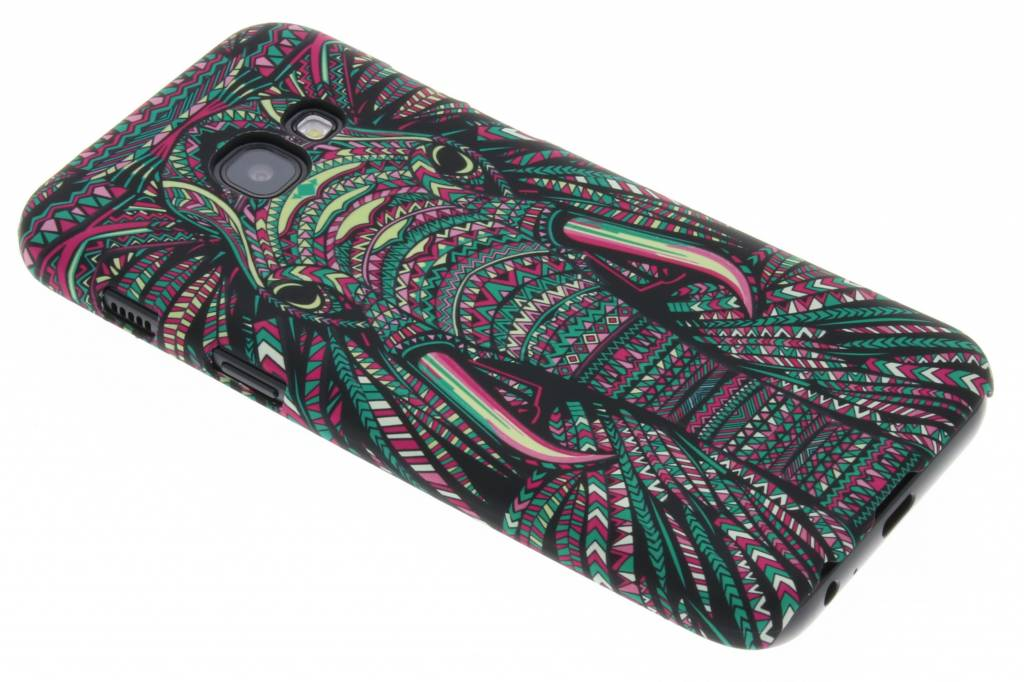 Olifant aztec animal design voor de Samsung Galaxy A3 (2017)