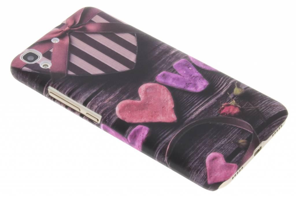 Love design hardcase voor de hoesje Huawei Y6