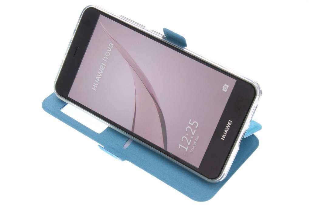 Cas Turquoise Pour Huawei Nova Rhombus axcAyY