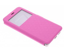 Roze Rhombus hoesje Huawei Nova