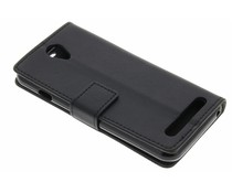 Zwart TPU Bookcase Acer Liquid Z6